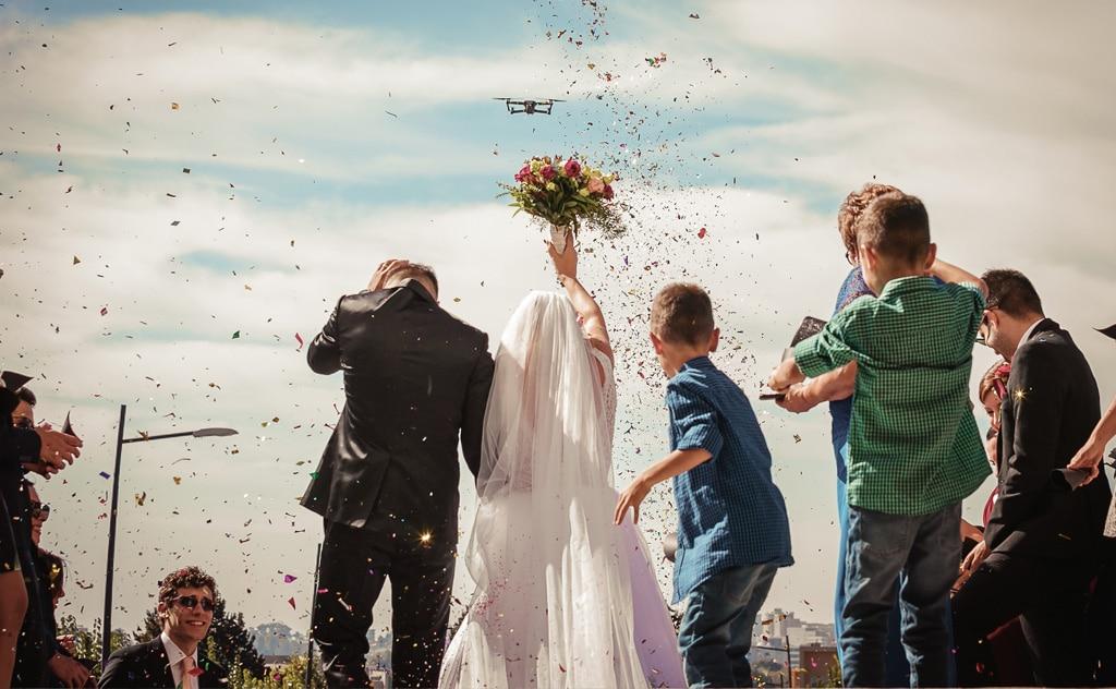 mariage drone bordeaux gironde aquitaine | Gautier V. Films Vidéaste à Bordeaux